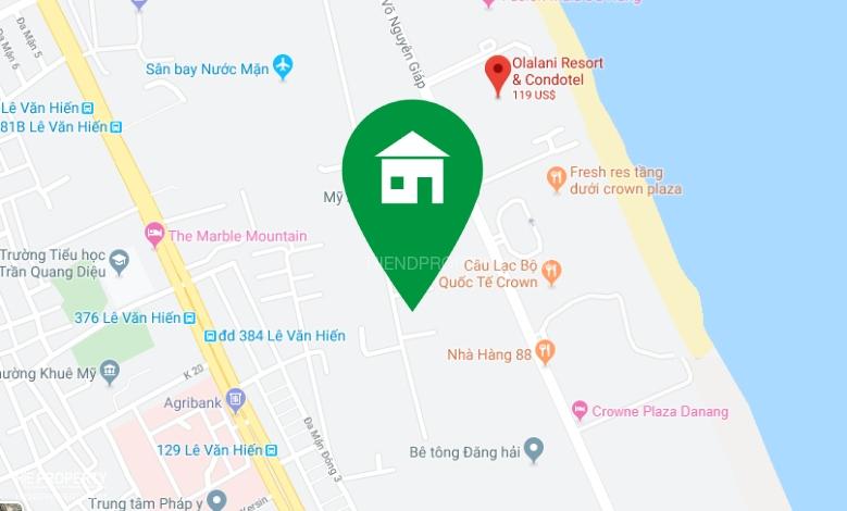 Cần cho thuê đất mặt tiền đường Trường Sa, Đà Nẵng, Hiendproperty, hepro